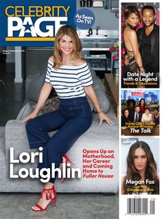 2017 - Vancouver - Covers and Tear sheets - Photographer - Erich Saide - Lori Loughlin - Tearsheet - Advertising - Celebrity Page