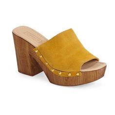 "Topshop \'Lucy\' Platform Clog, 3 1/2\"" heel - High-heel Clogs http://www.gossipness.com/shopping/topshop-lucy-platform-clog-3-12-heel"