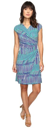 Tommy Bahama Salvador Stripe Short Dress (Sapphire Night) Women's Dress - Tommy Bahama, Salvador Stripe Short Dress, TW615754-400, Apparel Top Dress, Dress, Top, Apparel, Clothes Clothing, Gift, - Fashion Ideas To Inspire