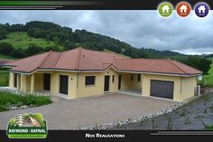 Exemple de réalisation de constructions dans le Cantal (15) - Raymond Raynal Maison de plein-pied