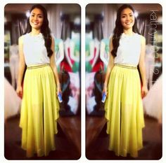 Kathryn bernardo yellow dress