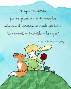 My Happy Place: Las 15 mejores frases de EL PRINCIPITO (Antoine de Saint-Exupéry) - Mi reto de lectura: JULIO Little Prince Quotes, The Little Prince, Motivational Phrases, Inspirational Quotes, I Love Books, My Books, Funny Phone Wallpaper, Appreciation Quotes, Love Phrases