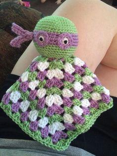 Crochet Lovey Blanket | Crochet Lovey Blankets by megsmasterpieces on Etsy, $12.00