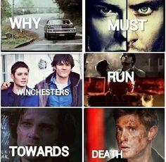 Hi Sam Dean, Winchester, Supernatural, Death, Movie Posters, Movies, Films, Film Poster, Cinema