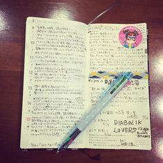 mahominn:久しぶりに、#ほぼ日手帳 photoを☆☆#ほぼ日手帳WEEKS にちまちま日記書くほうが性に合うようで3週間続いてます«٩(*´ ꒳ `*)۶» #まほぼ日 #maho365