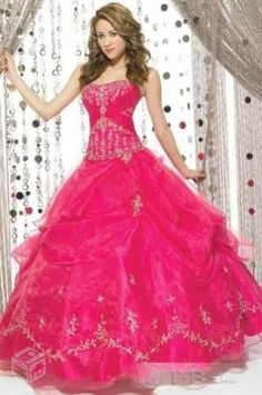 vestidos de 15 anos pink 2014 2