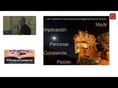 Hola: Una vídeo con la ponencia: Estrategia para promocionar un destino de interior (vídeo) ofrecida en el I Congresos Nacional de Turimo y Social Media celebrado en Cuenca el 14 de septiembre de 2...