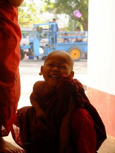 Novice Buddhist monk