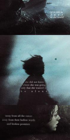 Arya Stark, someone else who understands vengeance