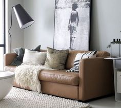 Leather Sofas for Modern Living Room_2