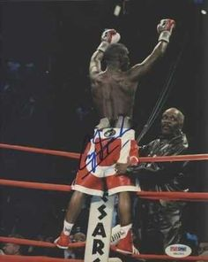 """CORY SPINKS HAND SIGNED 8X10 BOXING PHOTO~PSA DNA COA . $35.00. CORY SPINKS HAND SIGNED 8X10 BOXING PHOTO~PSA DNA COA DESCRIPTION: CORY SPINKS HAND SIGNED 8X10"""" BOXING PHOTO. CLICK ON IMAGE FOR CLEARER AND LARGER VIEW SIGNATURE IS AUTHENTICATED BY PSA DNA. CERTIFICATE OF AUTHENTICITY (COA) INCLUDED TO MATCH NUMBERED STICKER ON PHOTO. PSA DNA COA #G81591. ITEM PICTURED IS ACTUAL ITEM RECEIVED."""