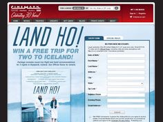 Cinemark Land Ho: Trip to Iceland Sweepstakes