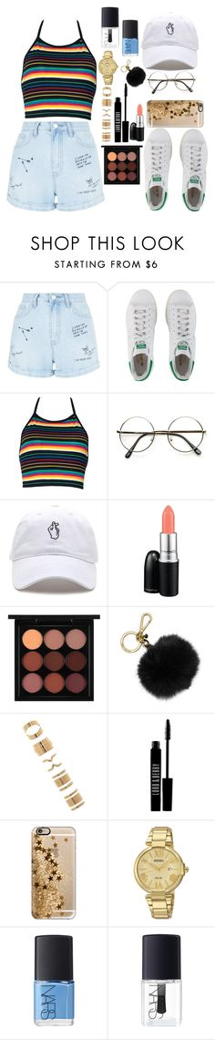 """""""summer adventures"""" by micheal-madison ❤ liked on Polyvore featuring New Look, adidas Originals, MAC Cosmetics, MICHAEL Michael Kors, Forever 21, Lord & Berry, Casetify, Seiko Watches and NARS Cosmetics"""