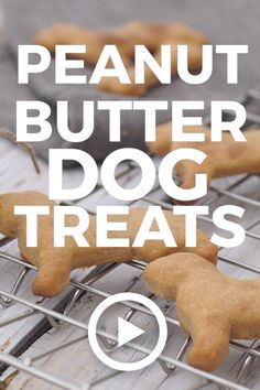 Peanut Butter Dog Treats by The Cookie Rookie. These Easy Homemade Peanut Butter. - Peanut Butter Dog Treats by The Cookie Rookie. These Easy Homemade Peanut Butter Dog Treats are a D - Homemade Dog Cookies, Homemade Dog Food, Homemade Dog Biscuits Recipe Easy, Homemade Peanut Butter Dog Treats Recipe, Peanut Butter Dog Biscuits, Doggy Treats Recipe, Dog Treat Cookie Recipe, Homemade Doggie Treats, Puppy Treats