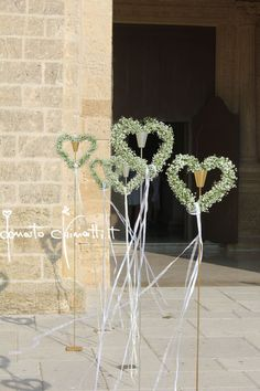 Pin by Bowman Lyn on Memorable Wedding Ideas in 2019 Diy Wedding Flowers, Wedding Ceremony Decorations, Flower Decorations, Wedding Themes, Wedding Dresses, Wedding Show, Church Wedding, Our Wedding, Dream Wedding