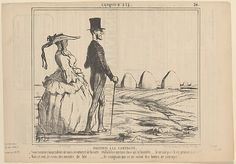 Honoré Daumier (French, 1808–1879). A Summer Sketch: Parisians in the Countryside, 1857. The Metropolitan Museum of Art, New York. Harris Brisbane Dick Fund, 1936 (36.12.185)