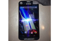 Purported picture of Motorola X phone appears online in new leak    A new picture of what is claimed to be the much talked about Motorola X phone has surfaced online. Mobile focused site PhoneArena claims to have received a picture of a prototype of Motorola XT1056 device which is being tested on US carrier Sprint's 4G LTE network. It also mentions that the phone sports a 4.5-inch or 4.6-inch display, has 16GB internal storage and runs Android 4.2.2 Jelly Bean.