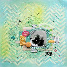 Riikka Kovasin - Paperiliitin: Awash With Colour Hop - Scrap365
