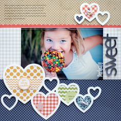 Sweet by Lisa Dickinson featuring Double Dutch from Lily Bee - Scrapbook.com