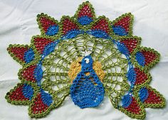 Ravelry: Peacock Doily pattern by Lisa Oberdorf