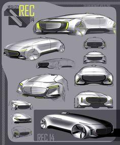 Mercedes-Benz F015 Luxury in Motion: design gallery