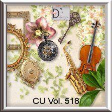Vol. 518 Vintage Mix by Doudou's Design  cudigitals.com cu commercial scrap scrapbook digital graphics#digitalscrapbooking #photoshop #digiscrap