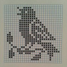 Filet Crochet Charts, Crochet Stitches Patterns, Knitting Charts, Embroidery Patterns, Loom Patterns, Tiny Cross Stitch, Butterfly Cross Stitch, Cross Stitch Designs, Cross Stitch Patterns
