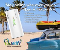 Stay online wherever you go!!! Rent a pocket wifi with you!!!Visit our websites:  http://www.pocwifi.com.au   http://www.pocwifi.co.nz