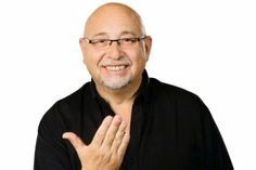 Barry Priori from Deaf Can Do is giving swearing sessions at the Adelaide Fringe Festival