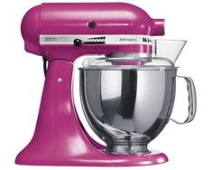 Buy KitchenAid Artisan Stand Mixer, Raspberry Ice from our Food Mixers range at John Lewis. Free Delivery on orders over Copper Kitchen Aid, Kitchen Aid Artisan, Artisan Food, Kitchen Aid Mixer, Kitchenaid Artisan Stand Mixer, Pink Kitchenaid Mixer, Kitchenaid Standmixer, Kitchen Gadgets, Kitchen Appliances