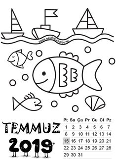2019 Standart Calendar Printable The calendar on this page is prepared as a standard 2019 calendar templates free printable. Preschool Curriculum, Preschool Art, Pierre Coffin, Floral Tattoo Design, Templates Printable Free, Guys Be Like, Study Motivation, Drawing For Kids, New Art
