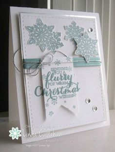 Stampin' Seasons: Christmas Flurries.....FMS215 - SU - Flurry of Wishes