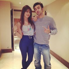 Unseen Personal Pic of Ranbir and Priyanka