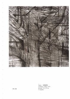 Eva Prokopová kresba tužkou návrh na relief