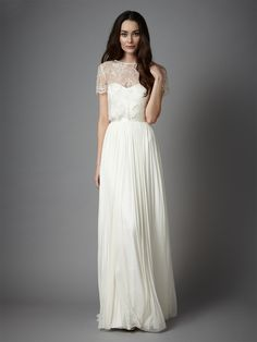 Gracelynn Top - into this strapless dress with topper look.