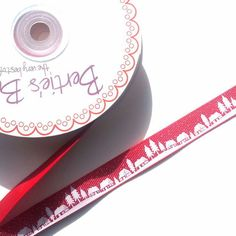 Red Village Ribbon £0.80