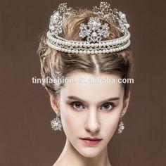 #Luxious Jewelry #Crystal #Princess #Tiara Jewelry