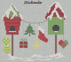 Stickeule: Adventskalender 2013