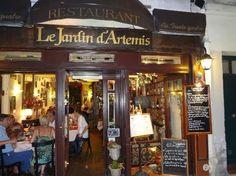 Latające talerze - blog o restauracjach: Le Jardin d'Artemis