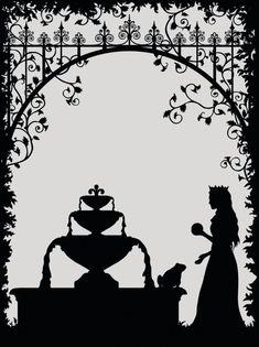 Alice in Wonderland - Laura Barrett - Illustration Portfolio - London Based Freelance Silhouette & Pattern Illustrator Kirigami, Papercut Art, Paper Cutting Templates, Fairy Silhouette, Frog Art, Shadow Puppets, Fairytale Art, Illustration, Art Plastique