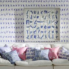 Andrew Martin Mischief Wallpaper By Holly Frean | AM-Mischief | £59.90