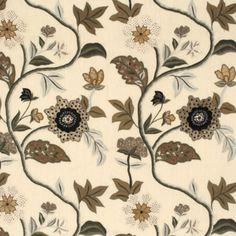Mulberry Home fabrics Grandiflora Shop online, worldwide shipping: http://ethnicchic.com/products/grandiflora