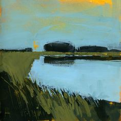 Paul Bailey ART, Still waters 8 x 8 inches 2013