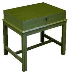 Hinged Lid End Table-Available in a Variety of Finishes $470.00 (USD).  Product in photo is from www.wellappointedhouse.com