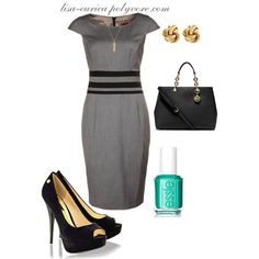 """Today is Monday Dress"" by lisa-eurica on Polyvore"