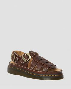 8092 LEATHER FISHERMAN SANDALS | Women's Boots, Shoes & Sandals | Dr. Martens Official Grunge Style, Soft Grunge, Dr. Martens, Tokyo Street Fashion, Sandals Outfit, Fashion Sandals, Shoes Sandals, Women Sandals, Nu Goth