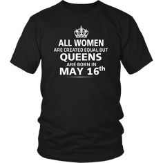 ed2a7f9e6b2f 96 Best All Women Created Equal The Best Born In May Shirt images ...