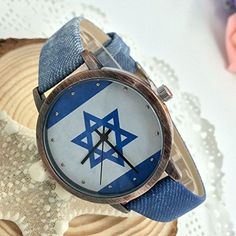 Kezzi Women's K1048 Casual Quartz Israel Flag Dial Watch Blue Leather Strap Kezzi http://www.amazon.com/dp/B00WTOLLUI/ref=cm_sw_r_pi_dp_uLzvvb173APPD