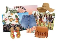 """Coachella!"" by rostianarahayu on Polyvore featuring MANGO, T By Alexander Wang and Sole Society"