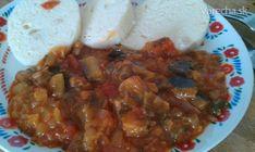 Baklažánový guláš (fotorecept)